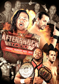 ROH - Aftershock Tour 2015 - Philadelphia Event DVD ( Pre-Owned )
