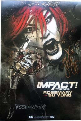 "TNA - Autographed Rosemary & Su Yung 11x17"" Poster"