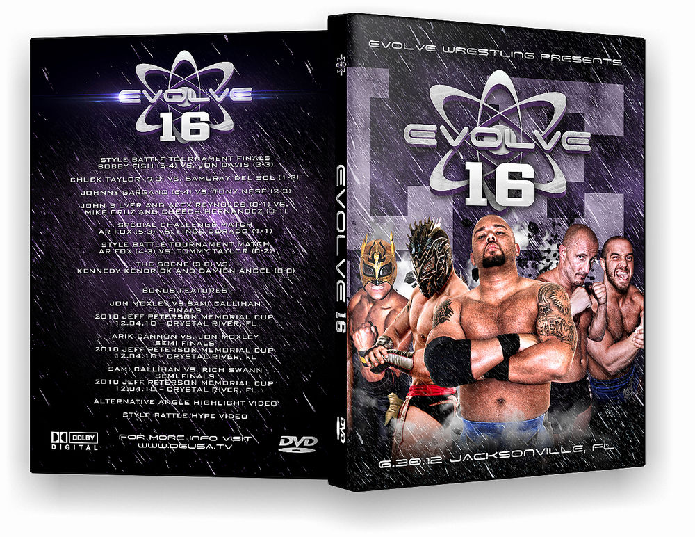 Evolve Wrestling - Volume 16 Event DVD
