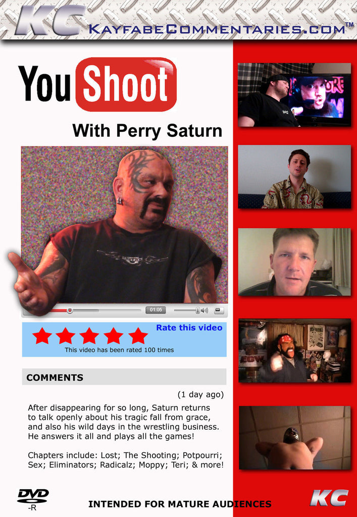 YouShoot : Perry Saturn DVD