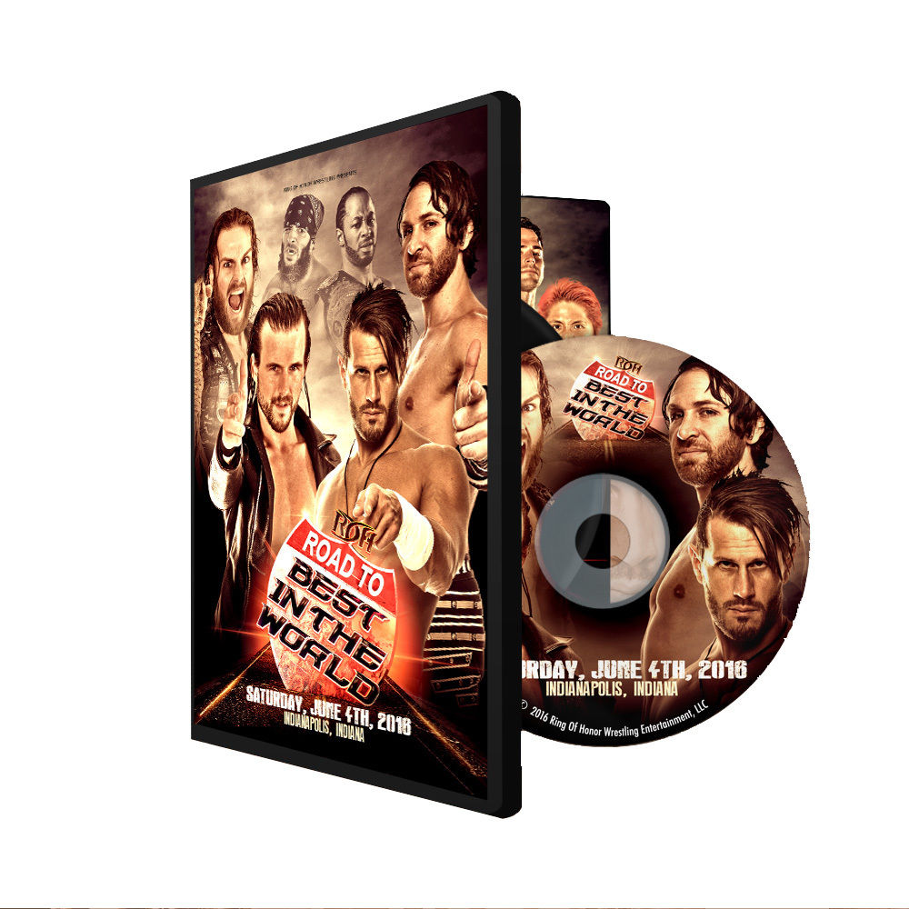 ROH - Road To BITW 16 : Indianapolis 2016 Event DVD