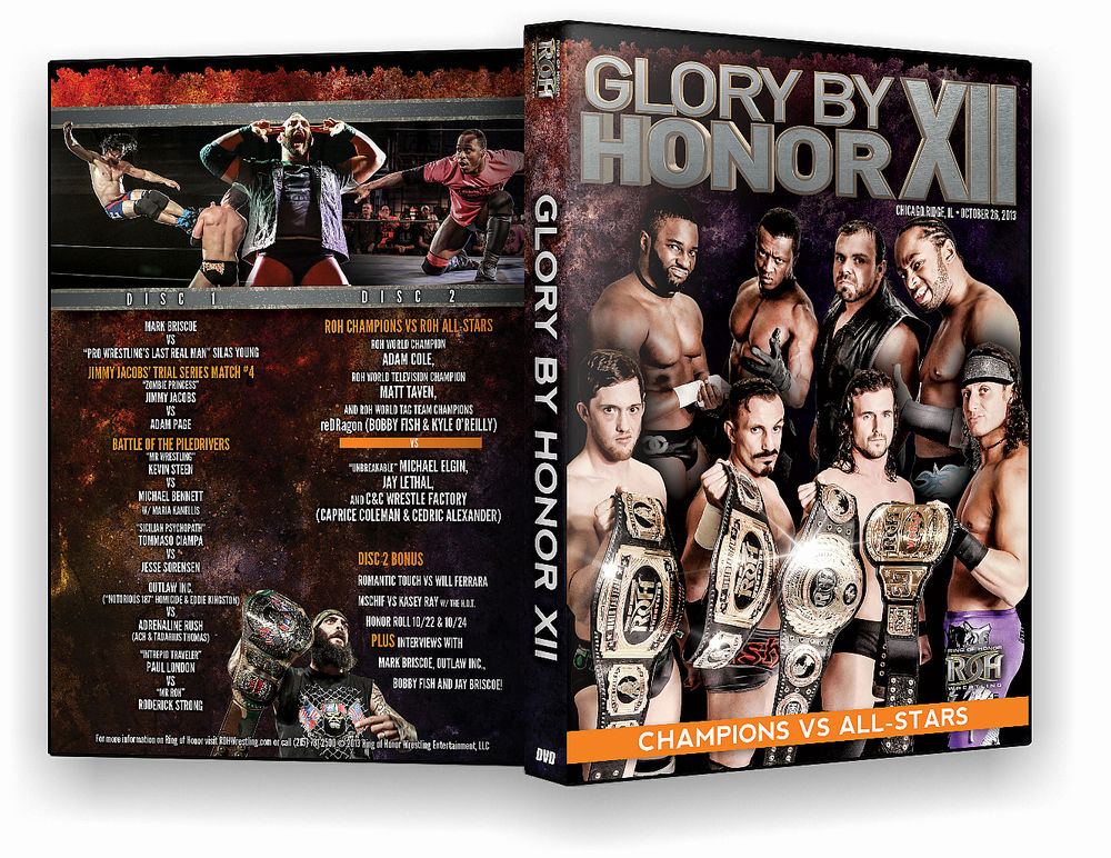 ROH - Glory By Honor XII: Champions vs. All Stars 2013 Event DVD
