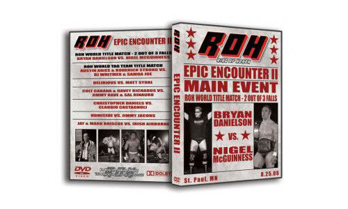 ROH - Epic Encounter 2 2006 Event DVD (Pre-Owned)