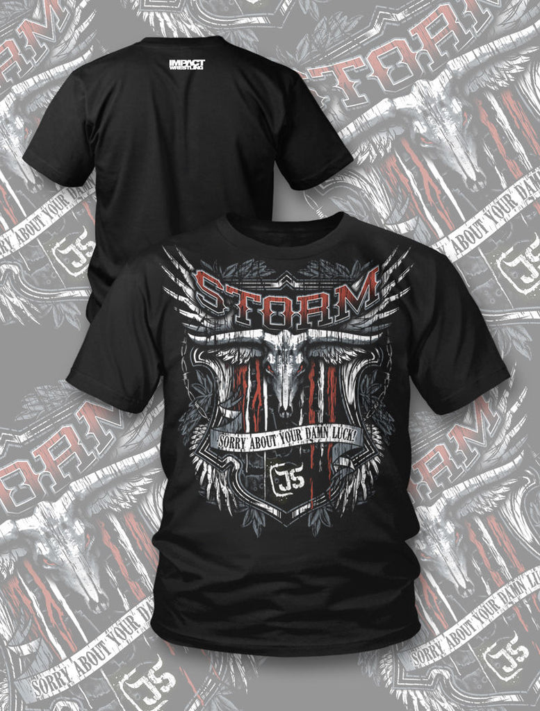 "TNA - James Storm ""Beer Label"" T-Shirt"