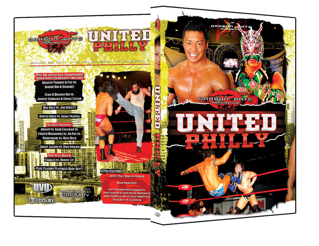 DGUSA - United : Philly DVD