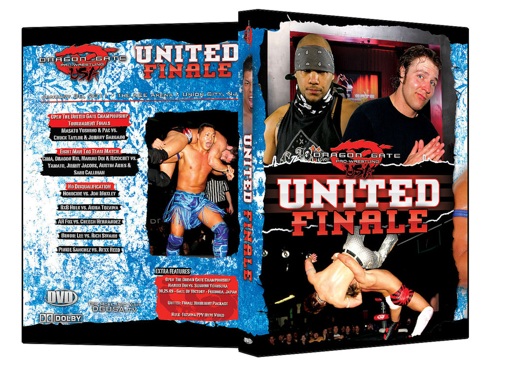 DGUSA - United : Finale DVD