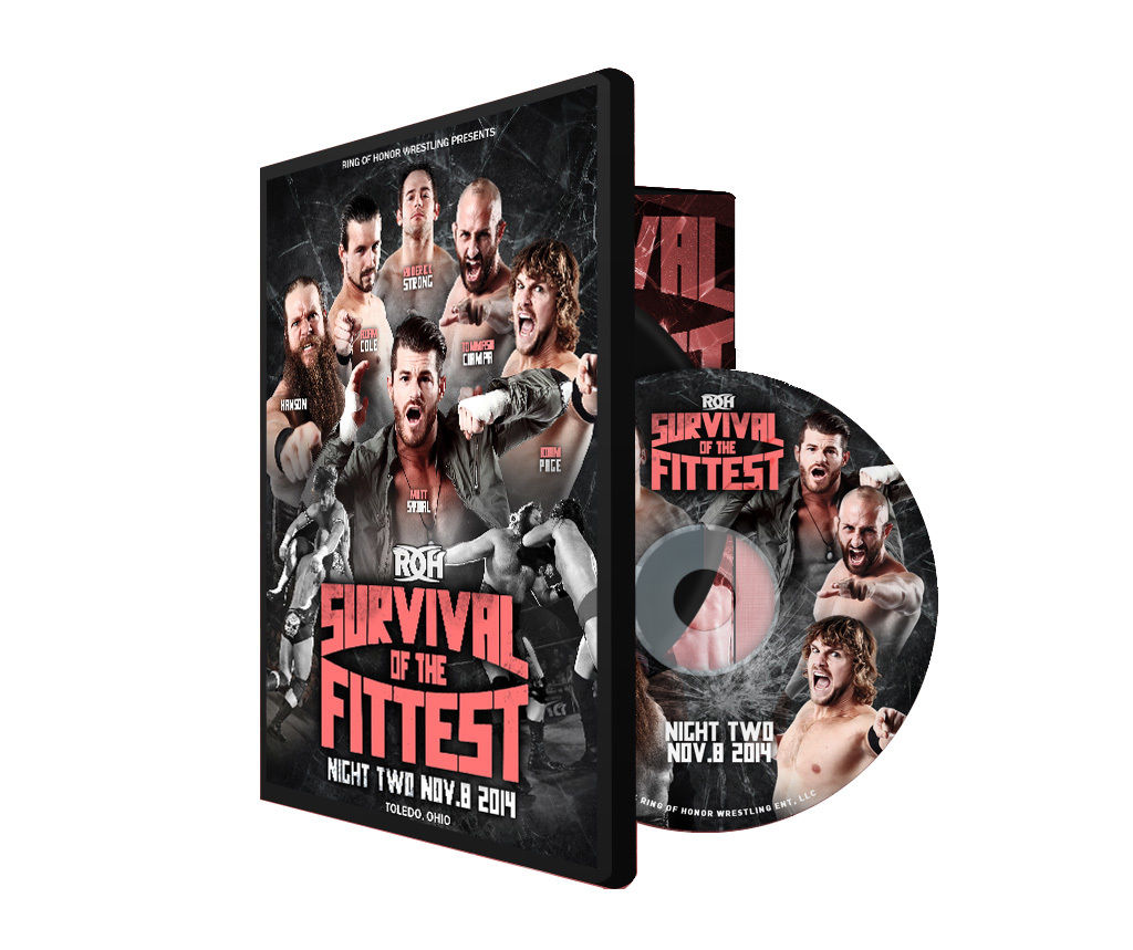 ROH - Survival of the Fittest 2014 Night Two Event DVD