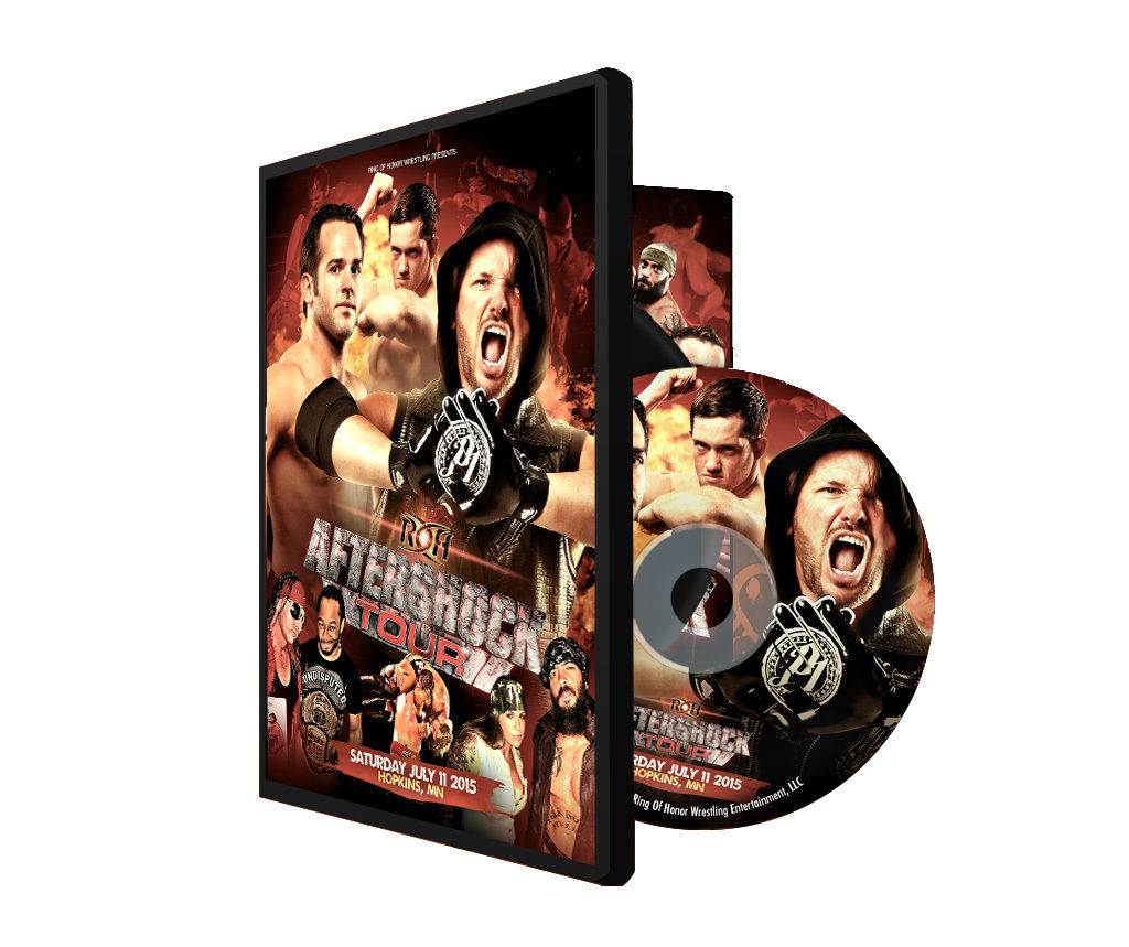 ROH - Aftershock Tour 2015 - Hopkins Event DVD