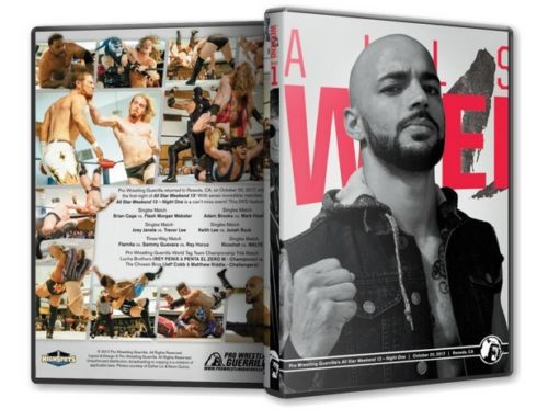PWG - All Star Weekend 13 Night 1 2017 Event Blu-Ray