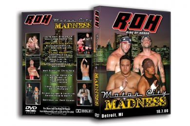 ROH - Motor City Madness 2006 Event DVD (Pre-owned)