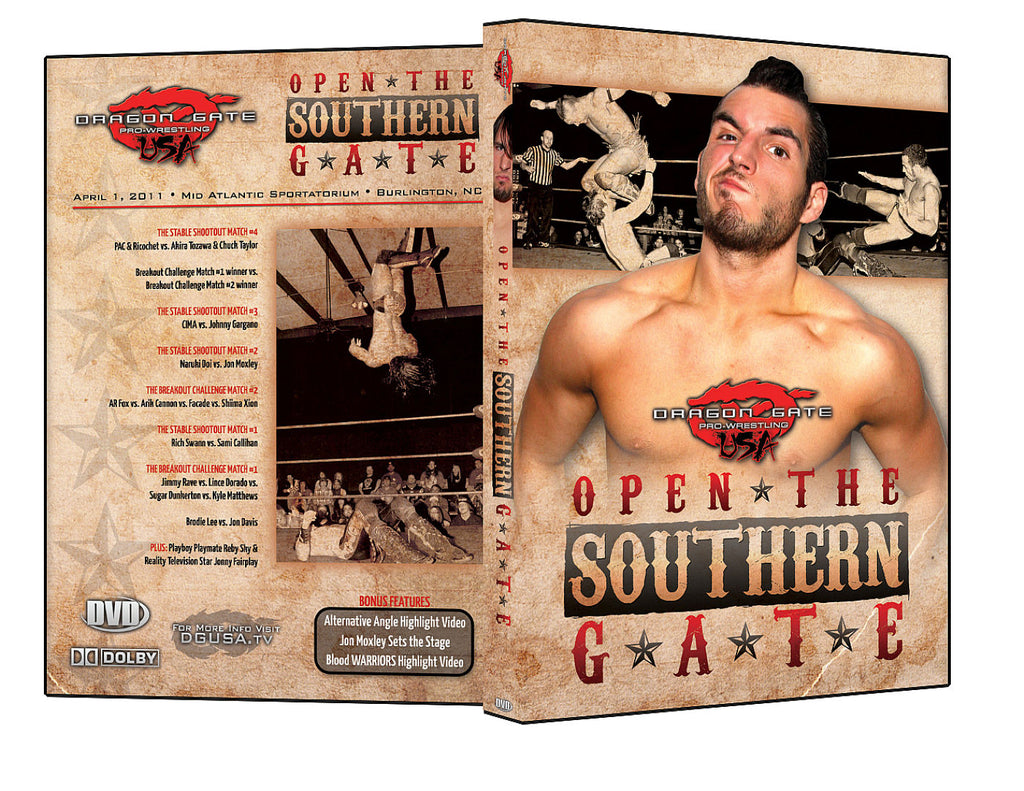 DGUSA - Open The Southern Gate DVD
