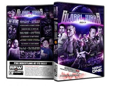RPW & NJPW - Global Wars UK 2017 Night 1 9/11/17 DVD