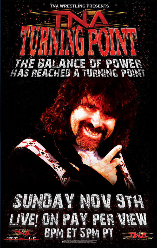 "TNA - Turning Point 2008 38""x24"" PPV Poster"