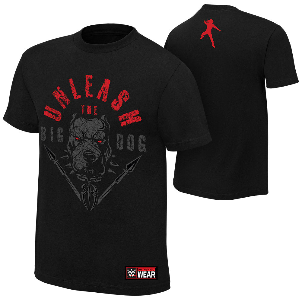 "WWE - Roman Reigns ""Unleash The Big Dog"" Authentic T-Shirt"
