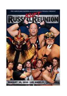 PWG - Kurt Russell Reunion 2010 Event DVD