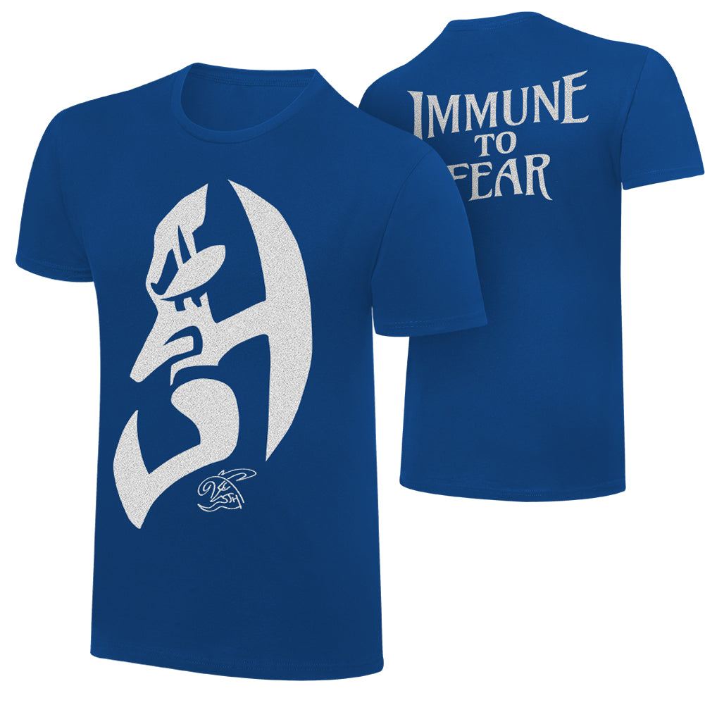 "WWE - Jeff Hardy ""Immune to Fear"" Blue Special Edition T-Shirt"