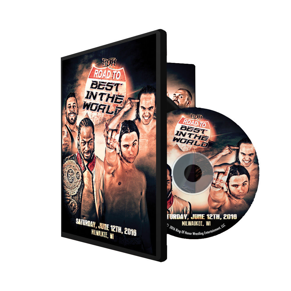 ROH - Road To BITW 16 : Milwaukee 2016 Event DVD