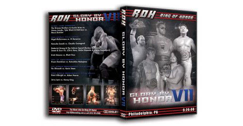 ROH - Glory By Honor 7 2008 Event DVD (Pre-Owned)