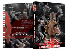 Dragon Gate UK : Lion Kid in DG:UK DVD