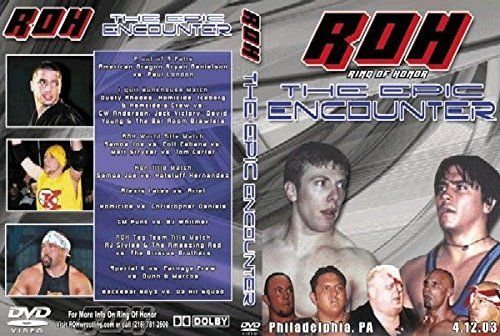 ROH - The Epic Encounter 2003 Event DVD (Pre-Owned)