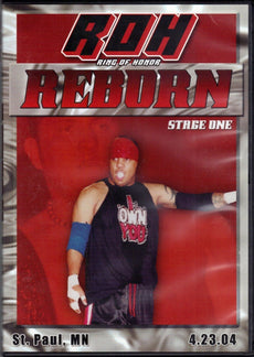 ROH - Reborn Stage One 2004 Event DVD (Pre-Owned)