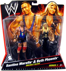 WWE Battle Packs Series 1 - Santino Marella & Beth Phoenix Figures