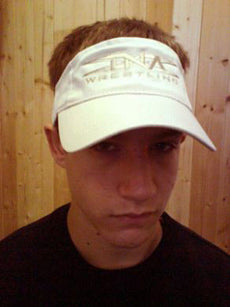 TNA - White Visor Hat / Cap