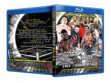 WWN - Style Battle : Season 1: Episode 1 Blu-ray