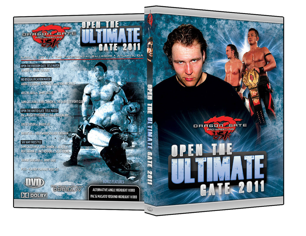 DGUSA - Open The Ultimate Gate 2011 DVD