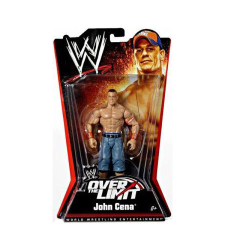 WWE PPV Basic Series 5 Over The Limit John Cena Figure
