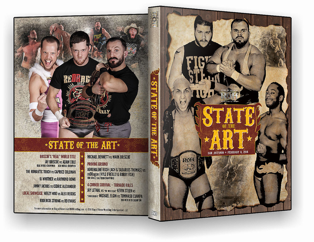 ROH - State Of The Art 2014 Event DVD