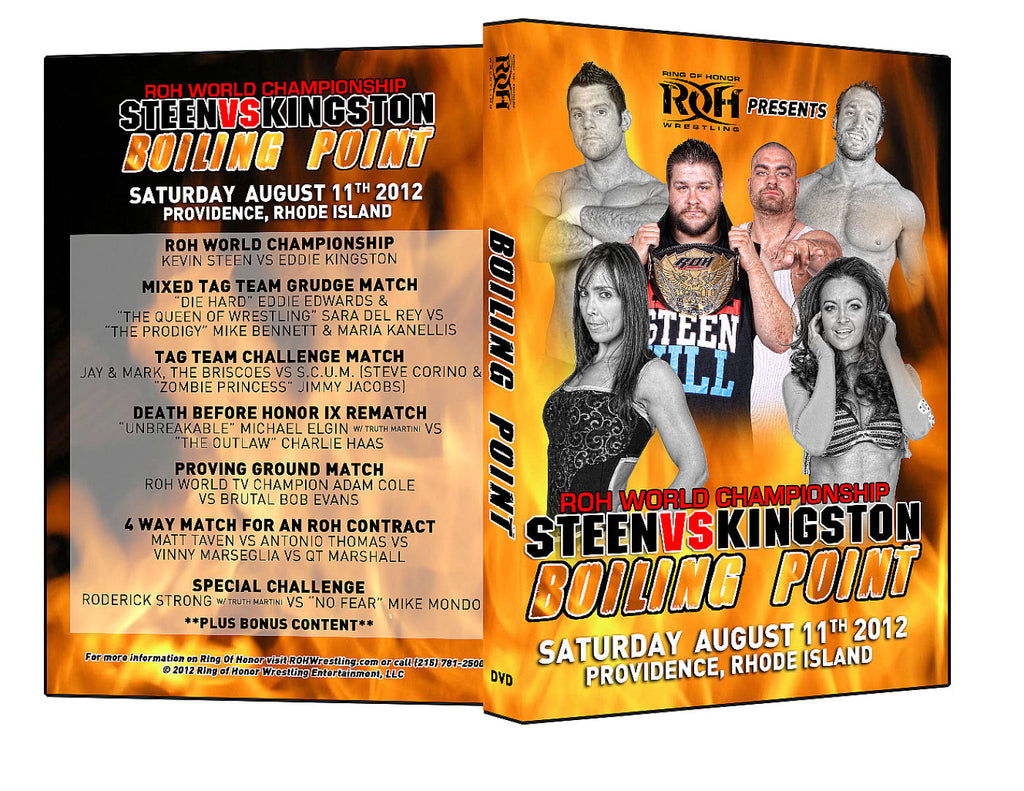 ROH - Boiling Point 2012 Event DVD