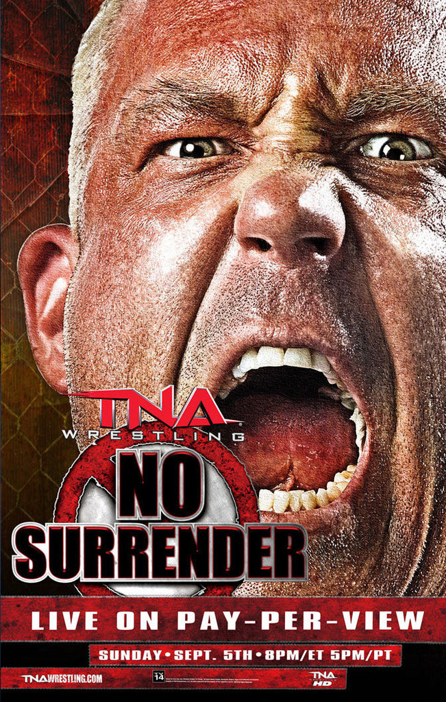 "TNA - No Surrender 2010 38""x24"" PPV Poster"