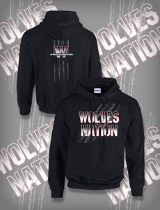 "TNA - Wolves ""Wolves Nation"" Hoody"