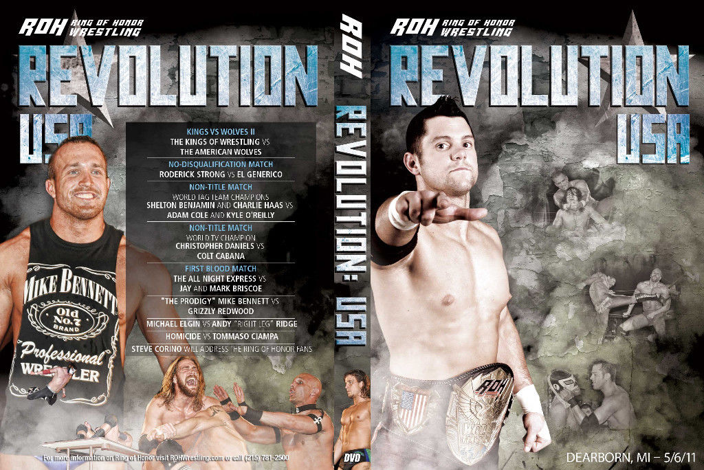 ROH - Revolution: USA 2011 Event DVD