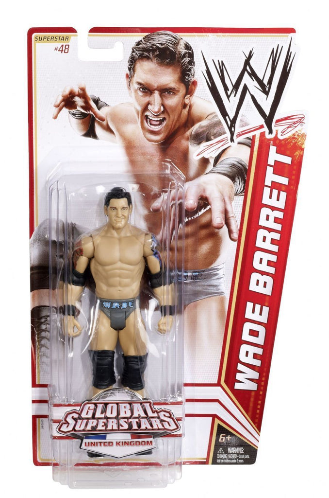 WWE Basic Series 20 Wade Barrett (#48) Figure