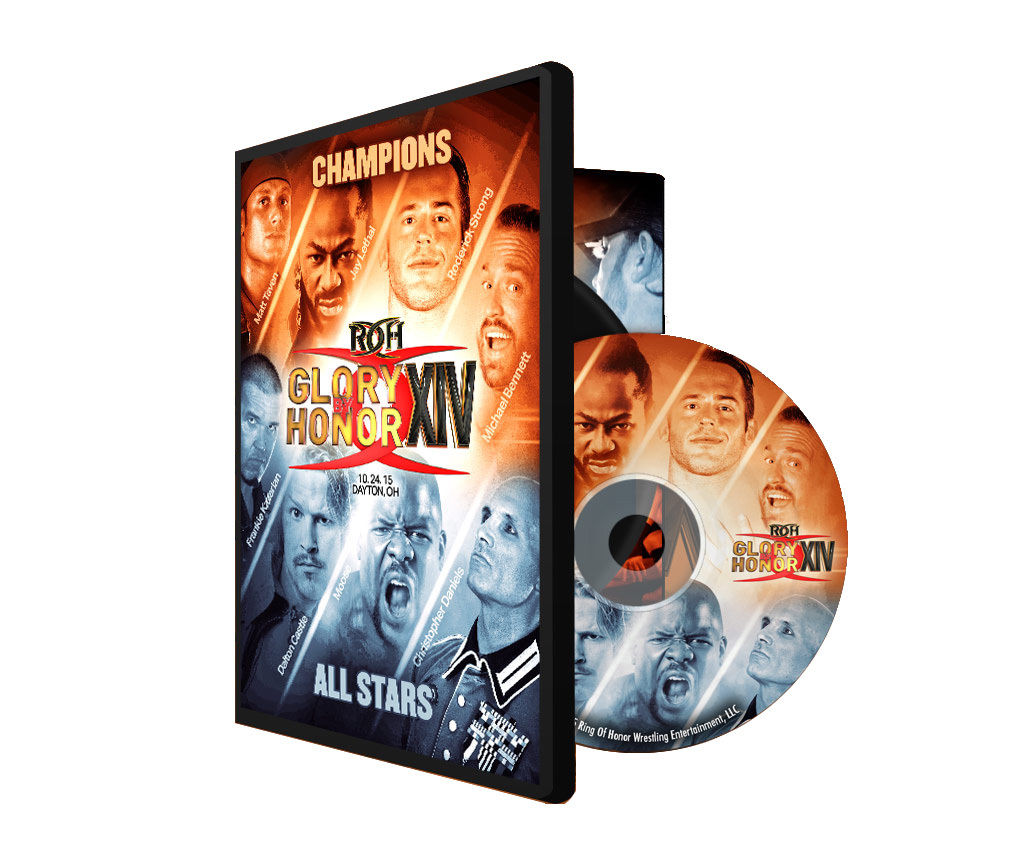 ROH - Glory By Honor 14 - Champions vs All Stars 2015 Event DVD