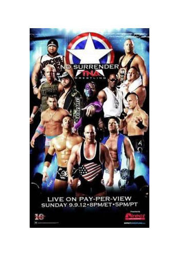 "TNA - No Surrender 2012 38""x24"" PPV Poster"