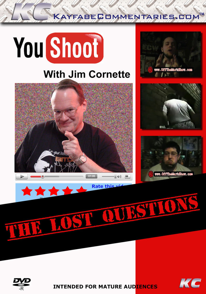 YouShoot : Jim Cornette : The Lost Questions DVD