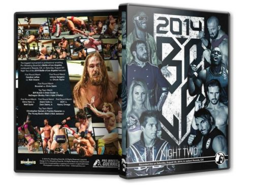 PWG - Battle of Los Angeles 2014 Night 2 Event DVD