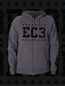 "TNA - EC3 ""Faded Stars"" Zip Up Hoody"