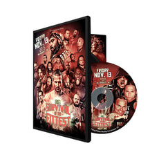 ROH - Survival of the fittest 2015 : Night 1 Event DVD