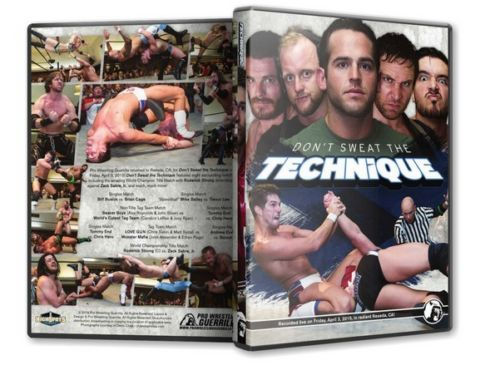 PWG - Don't Sweat the Technique 2015 Event DVD