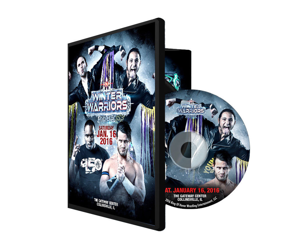 ROH - Winter Warriors Tour 2016 Collinsville, IL Event DVD