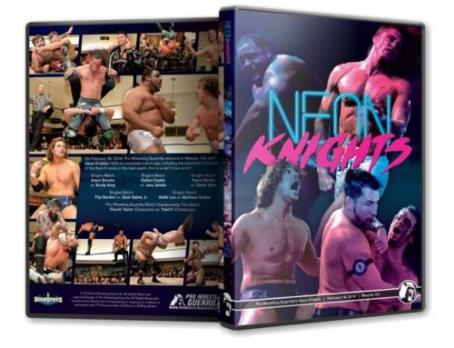 PWG - Neon Knights 2018 Event DVD