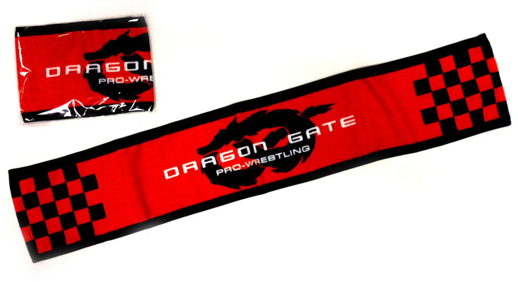 Dragon Gate Red & Black Towel