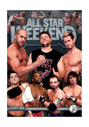PWG - All Star Weekend 8 - Night One 2011 Event DVD