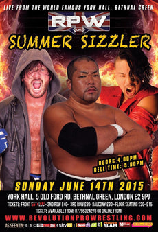 RPW - Summer Sizzler 2015 A3 Poster