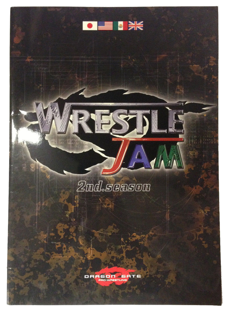 Japanese Dragon Gate Programme - Wrestle Jam 2nd Season