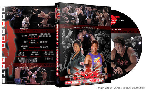 Dragon Gate UK. : Shingo V Yokosuka 2 DVD